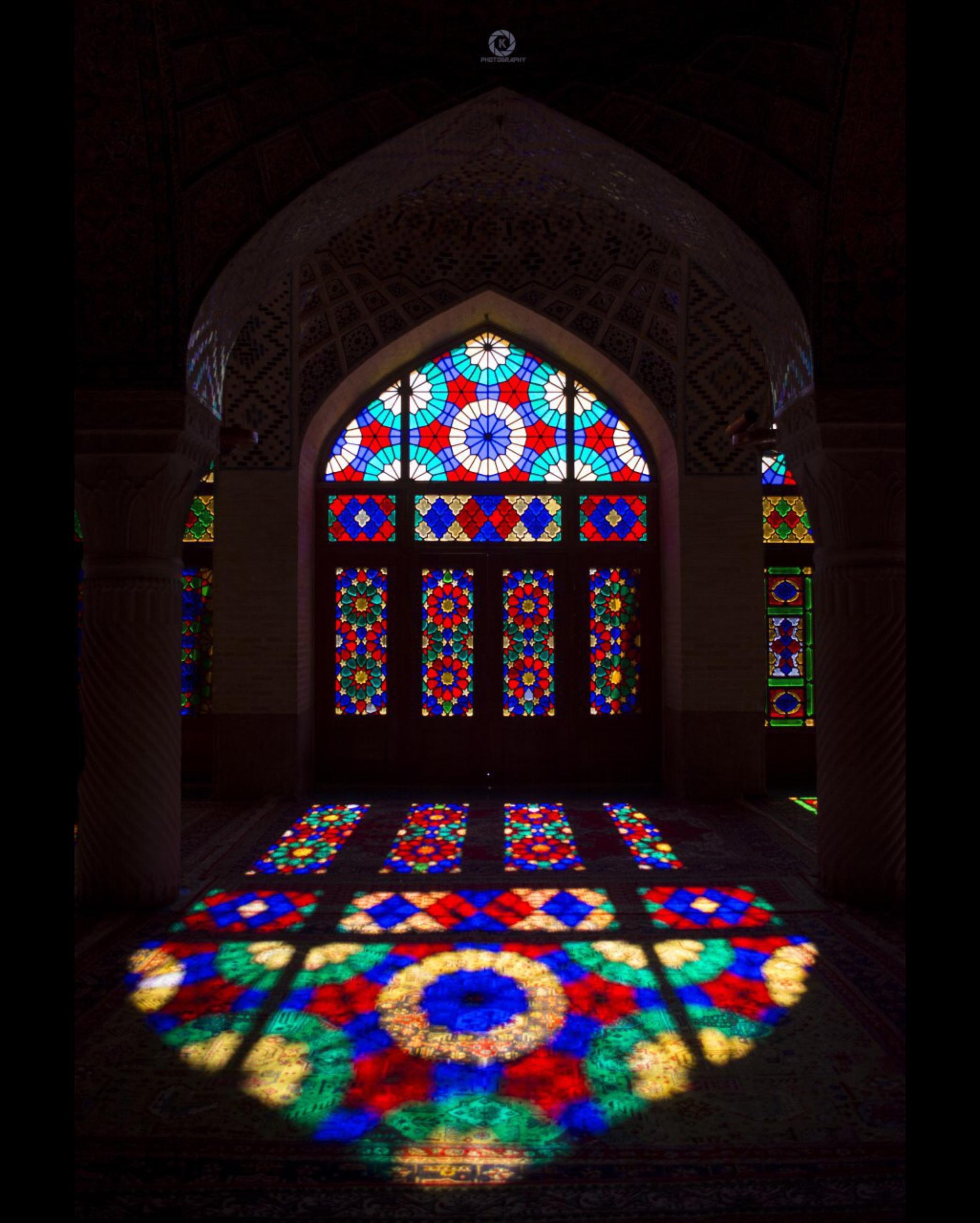 نيما كلانتري - مسجد نصير الملك شیراز