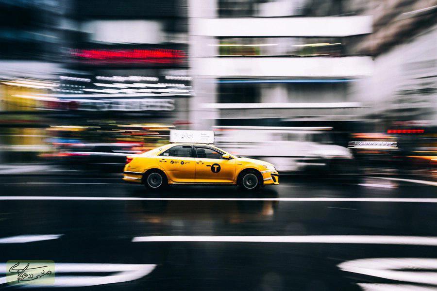 مات کردن حرکت(Motion Blur) در عکاسی خیابانی